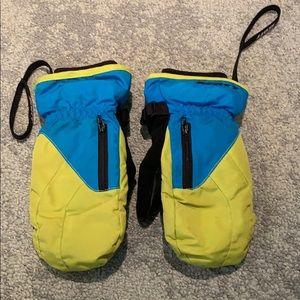 Scott kid ski gloves - size M/5.5